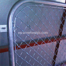1.5M * 2.5M Galvanized Chain Link Fence Panels