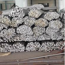 Barre d'alliage d'aluminium de petit diamètre 2024 T4