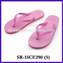 2015 latest design flip flops for beach slipper