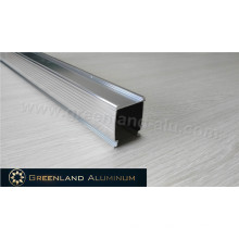 Anodized Silver Aluminium Braketing Curtain Track for Honeycomb Shade