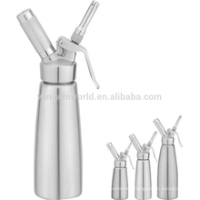 Wholesale 500ml Stainless Steel Cream Whipped Dispenser with SS Three Different Nozzles And Brush