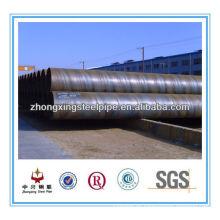 Tubo de espiral de acero de ASTM A252 grade2