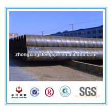 ASTM A252 grade2 spiral steel pipe