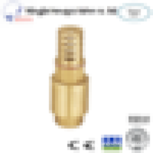 1 inch nature color brass hpb57-3 material swing check valve made in China HYFY