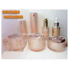 Cosmetic Acrylic Cream Jars and Bottles