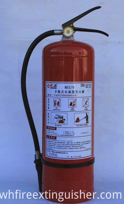 Water-based Fire Extinguisher Carton