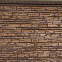 PU foamed composite metal wall decorative panel