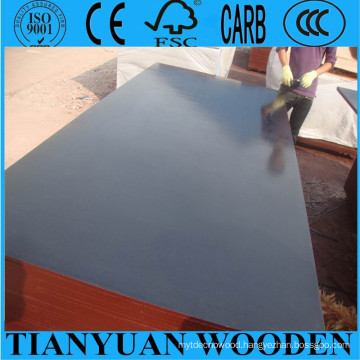 18mm Formwork Film Faced Plywood/Waterproof Plywood, 1220*2440mm Construction Plywood