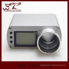 LED de alimentación medidor pantalla Airsoft táctico X3300 Metal cronógrafo