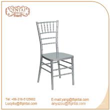 Silla de metal tiffany silla de bambú silla de chiavari