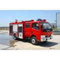 Dongfeng duolika 6 wheels water fire truck
