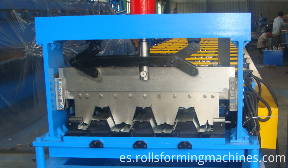 floor plate roll forming machine