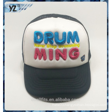 Dot mode baseball hat with emboridery and mesh good quality