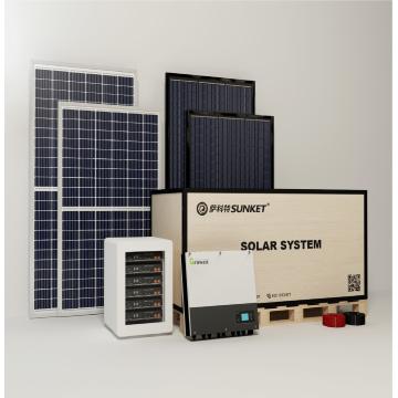 6кВт на автономной системе хранения солнечной энергии