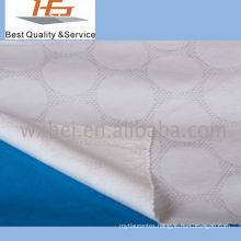 100% Cotton Bed Sheet Fabric White Stripe For Home Textile