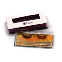 X20 Hitomi custom eyelash packaging box wholesale false eyelashes  clear band luxury real fluffy 3d mink eyelashes
