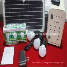 20 Вт домой Солнечная система освещения с питанием