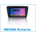 Système Android 10,2 pouces voiture lecteur DVD pour Skoda Octavia