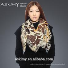Écharpe en laine de haute qualité 100% chinoise
