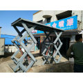 Fixed vertical upright goods elevator scissor lift with high quality