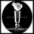 alta qualidade K9 aperto de mão em branco cristal prêmio crystal trohpy