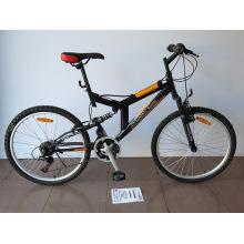 """Bicicleta de montaña con marco de acero de 24 """"(CZ2405)"""