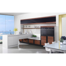 Economical Modern Lacquer Kitchen Cabinet for Project Use