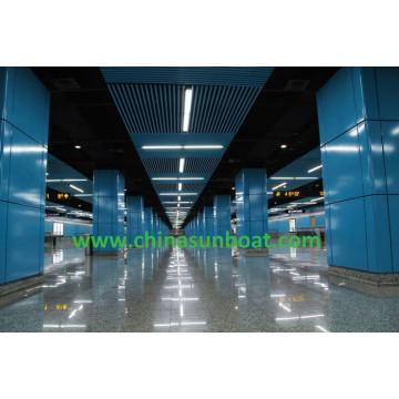 U-Bahn-Station-Wände / Emaille-Wand-Raum / Emaille-Platte / Emaille-Stahlblech