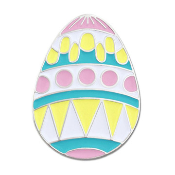 Påskägg Holiday Spring Pastel Iron Lapel Pins