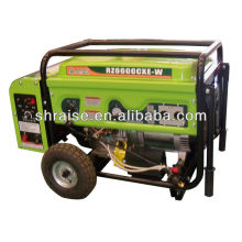 Three-phase electric diesel welder generator set