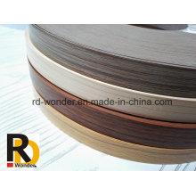 Muebles de madera decorados bordes de borde de PVC