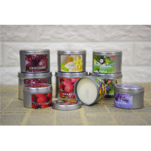 Beautiful Scented Candle Tins
