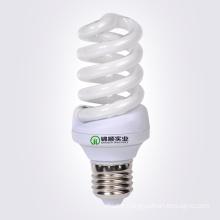 Ampoule à économie d'énergie en spirale à tube de verre phosphoreux 20W