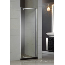 Simple Design Tempered Glass Pivot Shower Door Hb-P900