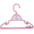 Conjunto de cabide de cabide de roupas de acessórios de bebê de plástico