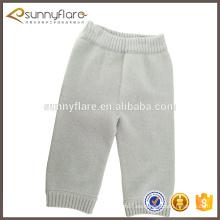 Plain baby kid 100% cashmere pants