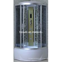 Cabina de lujo completa del cubículo de la caja de la casa de la ducha de vapor (AC-56-90)