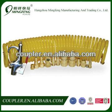 15 pieces air accessory coupler,hose and blow gun kit,chipping gun pneumatic