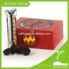 Fruit wood charcoal tablets for chicha