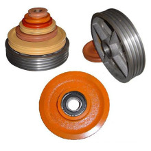 Costomerized Pulley Used on Elevator