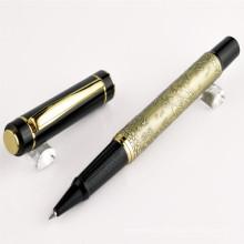 Тяжелое золото металлическая ручка для корпоративного подарка, ручка шарика металла