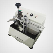 Máquina de corte de chumbo de componente radial