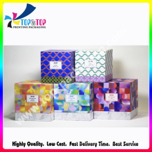 Customize Ribbon Folding Box for Hair Extension Paper Box