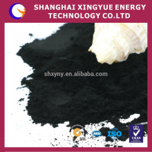 800-1100 iodine value decolorzition activated carbon for food area