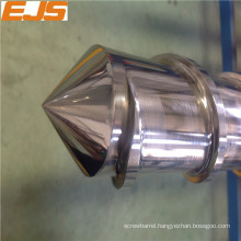 Bimetallic single screws for pvc pta pe extrusion