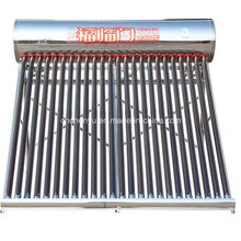 2015 Best Selling for Indian, Maxico, Mauritius Market Stainless Steel Solar Water Heater