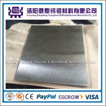 Fabricación profesional W> 99.95% Lámina de tungsteno 0.1 mm