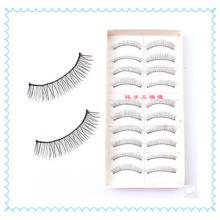 10 pares de mistura reutilizável Eye Lash, tempo Regular Cilios