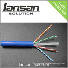 4PR 23AWG UTP CAT 6 cabo / cabo em massa / cabo de dados / cabo Ethernet / cabo LAN, 250Mhz / PVC / LSOH