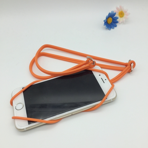 The silicone phone lanyard